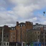 Videó: Jetpackkel repkedett egy ember Dublin felett