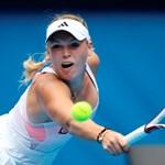 Kiesett Pekingben a világelső Wozniacki
