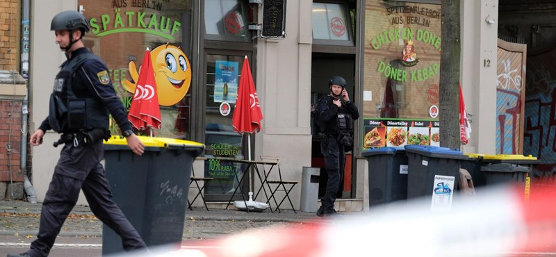 Egy német neonácit gyanúsítanak a hallei lövöldözéssel