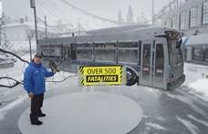 Ilyen időjárás-jelentést látott már? A magyar tévékben is igazán bevezethetnék