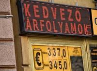 362,6-os euróárfolyamra gyengült a forint