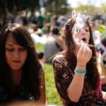 Tekerd meg, és táncolj! Ilyen a marihuána ünnepe Amerikában - fotók