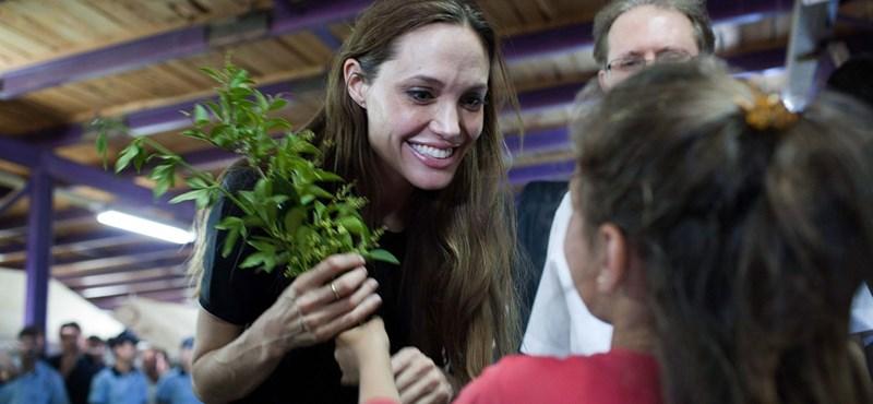 A Pitt-Jolie házaspár négyéves lánya megkapta első filmszerepét