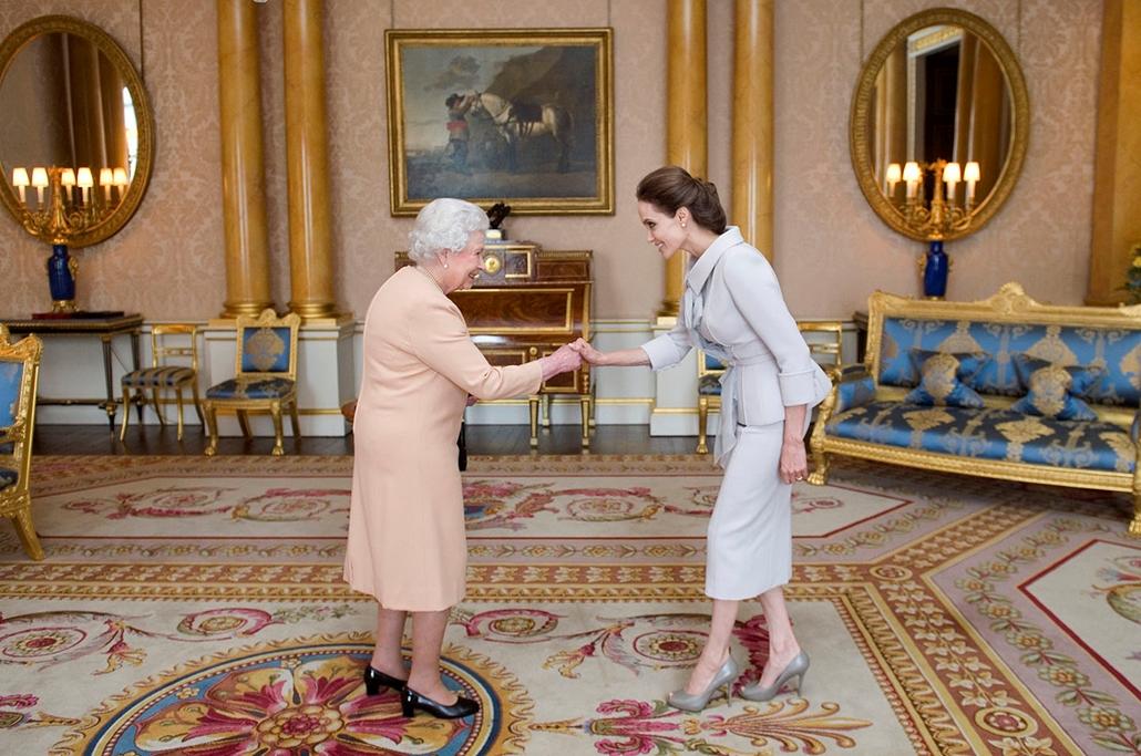 AFP, II. Erzsébet, Angelina Jolie