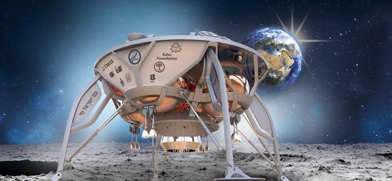 Izrael nem adja fel, újabb szondákat küldene a Holdra