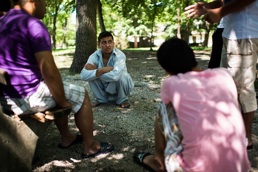 Menekültek, Balassagyarmat