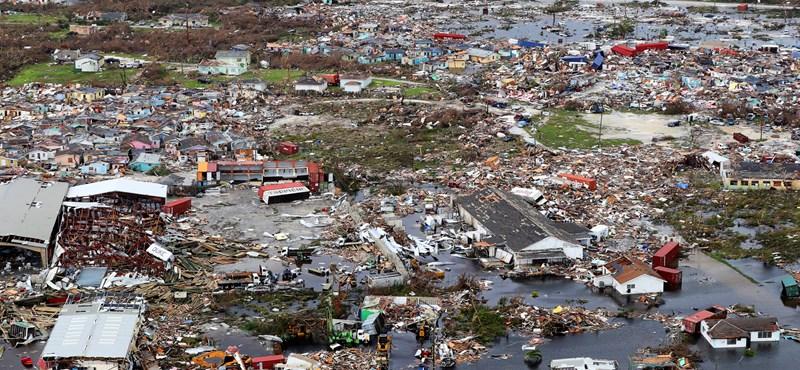Dorian hurrikán: közel 2500 embert tartanak nyilván eltűntként a Bahamákon