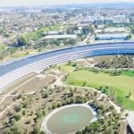 Csak idő kérdése volt: drón zuhant az Apple Park főépületére
