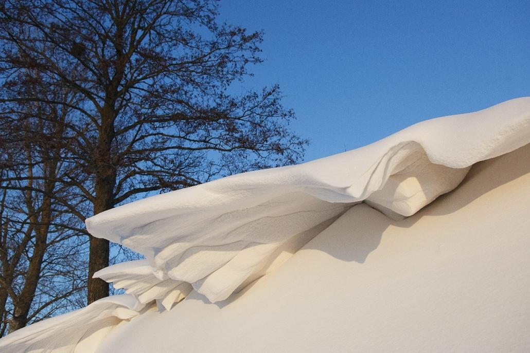 mti.14.12.29. - Pölöskefő: hópárkány a település közelében - 7képei, havazás, hó, hóesés, hópárkány