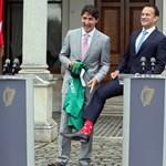 Trudeau emberére akadt a zoknimániában