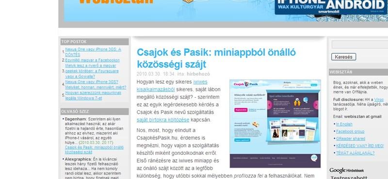 Tizenöt éves a magyar online tartalomszolgáltatás