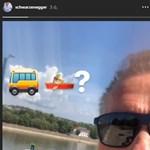 Schwarzenegger nem tudja hova tenni a pesti vízibuszt, rendesen rácsodálkozott – videó