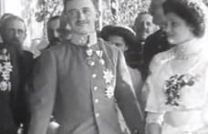 Különleges videó került elő Károly főhercegről és Zita hercegnőről