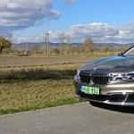 BMW 740e teszt: hibrid zászlóshajó