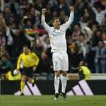BL-döntőbe jutott a Real Madrid a 2-2-es hazai döntetlennel