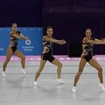 Aranyérmesek a magyar aerobikosok