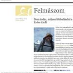 Erőss Zsolt nem adja fel: újra fel akar jutni 8000 méter fölé