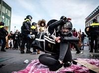 Országok a teljes idegösszeomlás szélén: Európa-szerte tüntetnek a korlátozások miatt