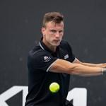 Nagyot csatázott Fucsovics a negyeddöntőért Dohában