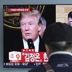 """""""Szokatlan"""" körülmények között jelentették be Trump és Kim Dzsong Un találkozóját"""