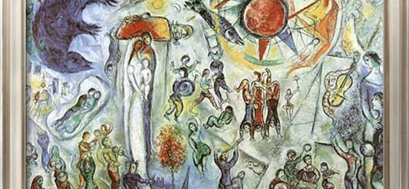 """""""Soha sehol máshol nem lehetett látni"""" – nyit a Chagall-tárlat"""