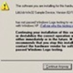 Illesztőprogram aláírások ellenőrzésének letiltása XP alatt
