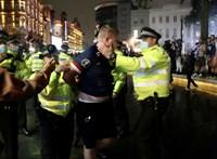 Harminc embert vettek őrizetbe a londoni angol-skót meccs után