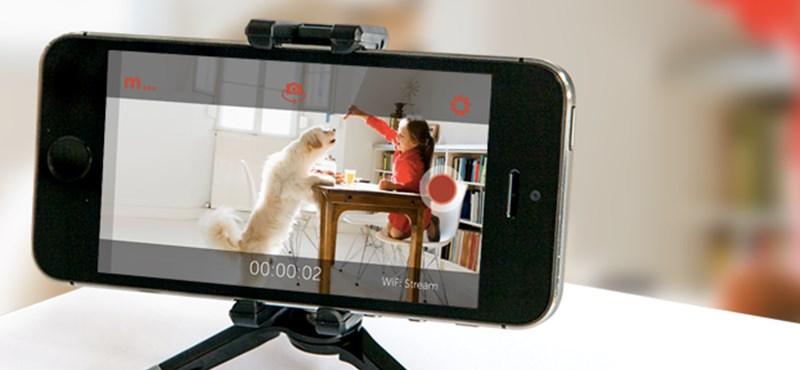Egyszerűen és ingyen biztonsági kamerát csinálhat megunt mobiljából