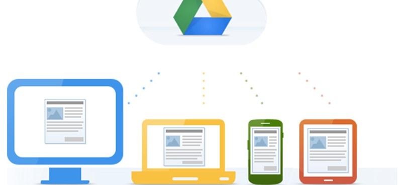 Fillérekért szerezhet óriási tárhelyet a Google-nél