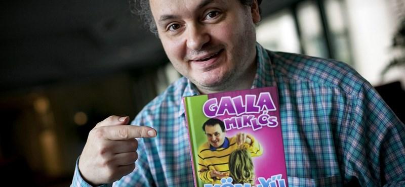 Galla Miklós azt mondja, infantilis és intelligens könyvet írt