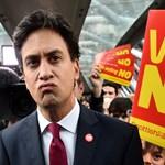 Kőbe vésette választási ígéreteit a brit Munkáspárt vezetője