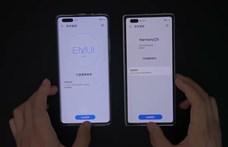 Videón a különbség: így teljesít a Huawei új rendszere, ha egy androidos telefon mellé teszik