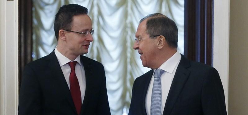 Lavrov megtekintette a 167 milliós Szijjártó-villát
