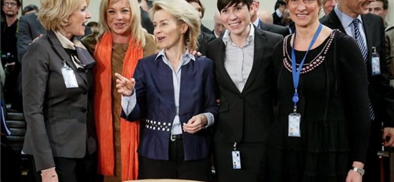 Fotó: Soha még ennyi női védelmi miniszter nem volt a NATO-ban
