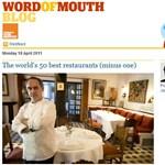 Megjelent a világ legjobb éttermeinek listája – hol van a legközelebbi?
