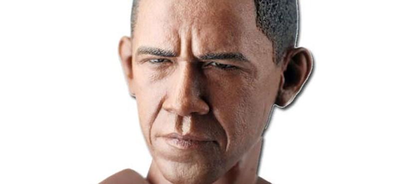 Meztelen Obama 55 dollárért - fotók