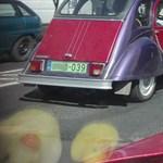 A nap fotója: nem kacsa, egy öreg Citroën kacsa is kaphat zöld rendszámot