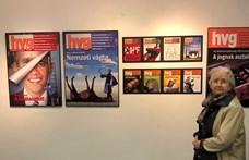 Megnyílt a HVG címlapjait bemutató kiállítás Székesfehérváron