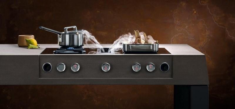 Az ön konyhájában van páraelszívó? Az újfajta már alulról húzza be az ételszagot