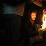 Így égettek hallgatói szerződéseket - fotók