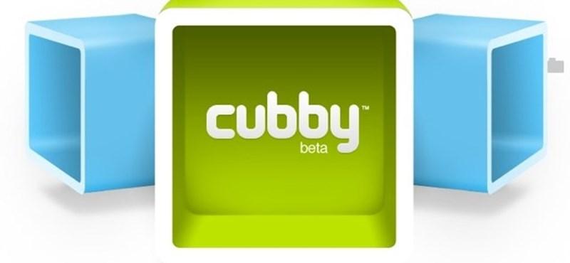 5 gigabájt ingyen tárhely: itt a Cubby