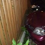 Fotók: Csúnya baleset lett a suzukis rókagázolásból