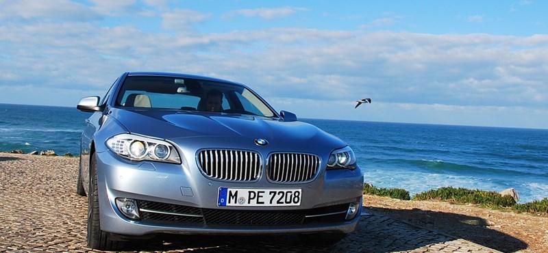 Teszteltük a hibrid ötös BMW-t