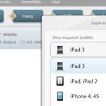 Így konvertálhatjuk videóinkat az új iPadre