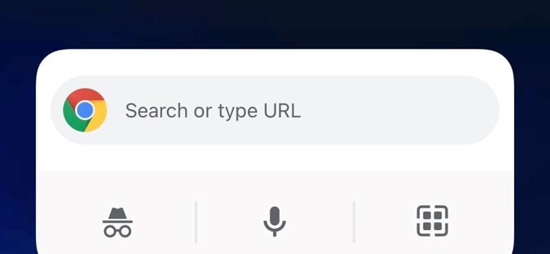 Érdemes frissíteni a Chrome-ot az iPhone-okon, három új widget is jön vele