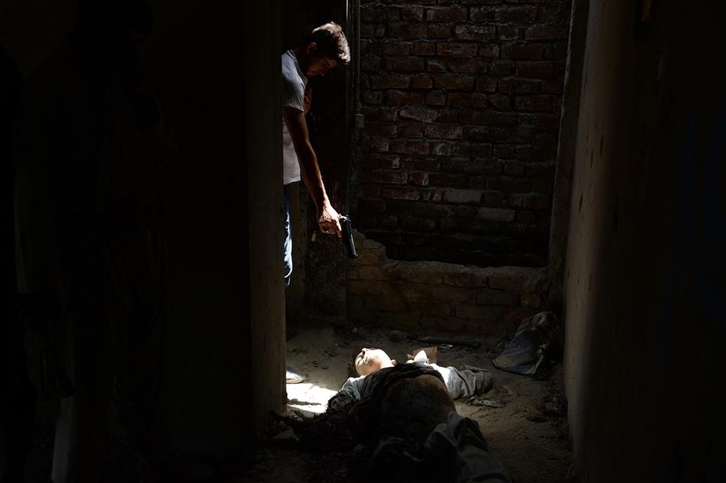 afp.14.07.17. - Kabul, Afganisztán: lövöldözés után a kabuli reptéren - afgán konfliktus