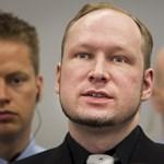 """Breivik: """"Ez a jelentés nem rólam szól"""""""