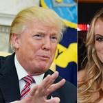 Trump pornószínésznője visszafizeti a pénzt, csak beszélhessen