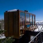 Minimalista hegyi ház Chiléből - A panorámára van kihegyezve