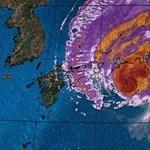 A tájfun idején a hajléktalanokat nem engedték be a tokiói óvóhelyekre